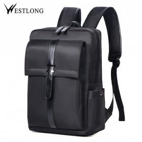 WESTLONG Tas Ransel Laptop 15.6 Inch - 3T98 - Black
