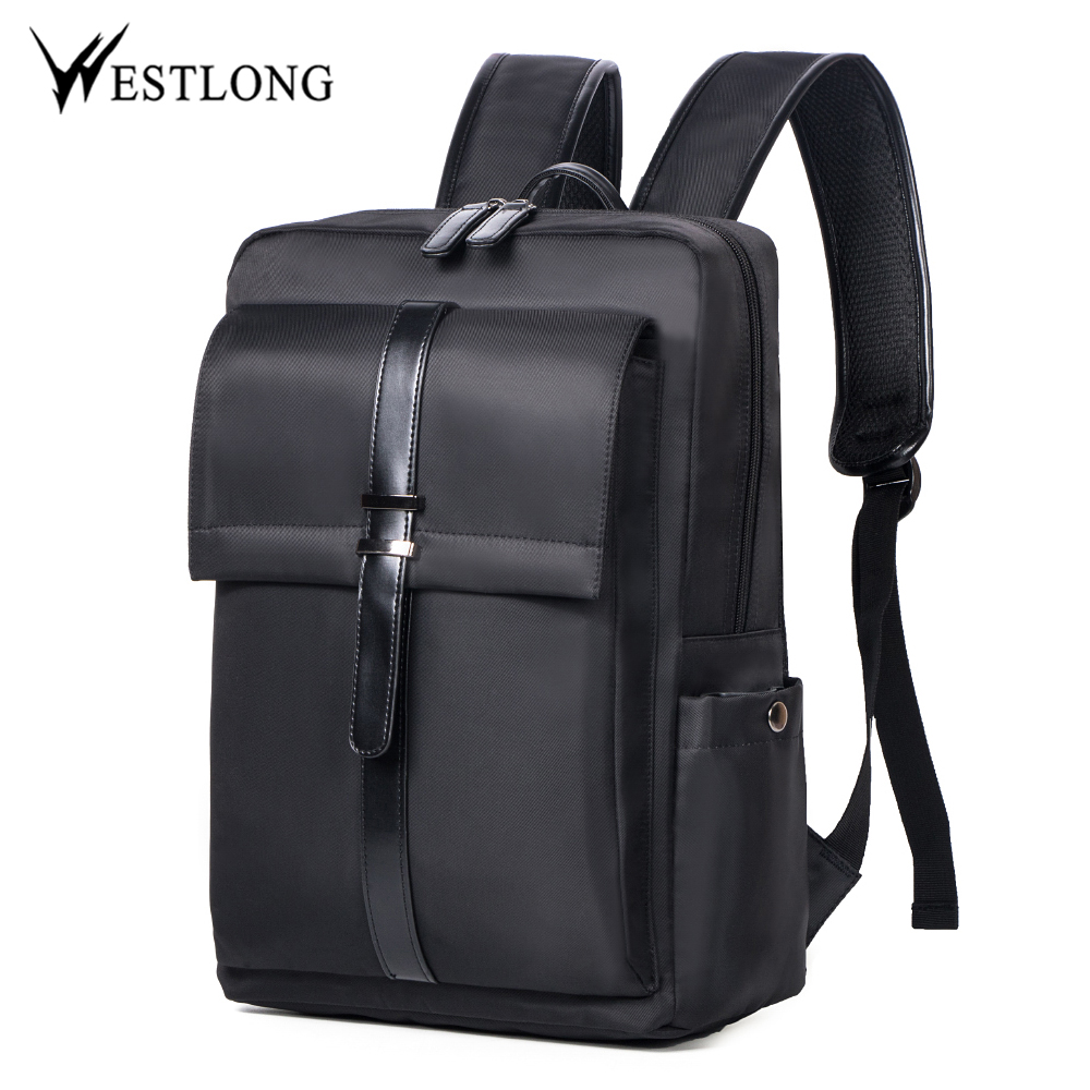 ... WESTLONG Tas Ransel Laptop 15.6 Inch - 3T98 - Black - 1 ... e868c47ddf