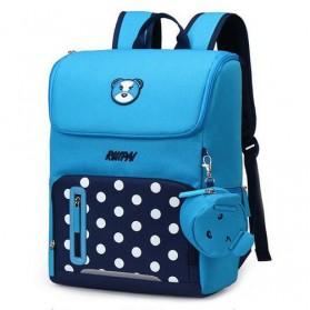 RUIPAI Tas Ransel Sekolah Anak - RX17096 - Blue