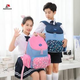 RUIPAI Tas Ransel Sekolah Anak - R8001 - Blue - 2