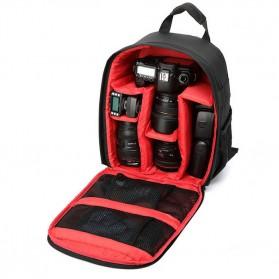 XINQUAN Tas Kamera DSLR Waterproof - BX-70 - Black/Red - 3