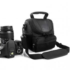 YKMZGO Tas Selempang Kamera DSLR for Canon Nikon - SX60 - Black