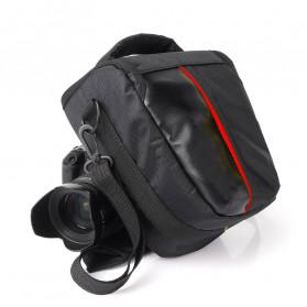 YUANK Tas Selempang Kamera DSLR for Canon Nikon - SX61 - Black
