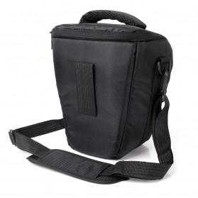 YUANK Tas Selempang Kamera DSLR for Canon Nikon - SX61 - Black - 3