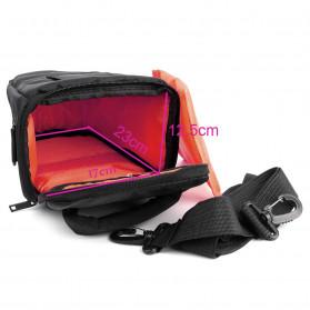 YUANK Tas Selempang Kamera DSLR for Canon Nikon - SX61 - Black - 4