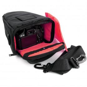 YUANK Tas Selempang Kamera DSLR for Canon Nikon - SX61 - Black - 5