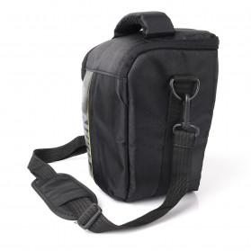 YUANK Tas Selempang Kamera DSLR for Canon Nikon - SX61 - Black - 6