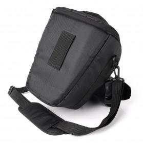 YUANK Tas Selempang Kamera DSLR for Canon Nikon - SX61 - Black - 8