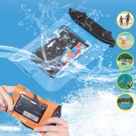 Tteoobl Waterproof Cover Bag for Pocket Camera - A-010C - Orange - 2