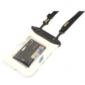 Tteoobl Waterproof Cover Bag for Pocket Camera - A-010C - White