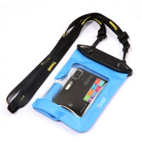 Tteoobl Waterproof Cover Bag for Pocket Camera - A-010C - Blue