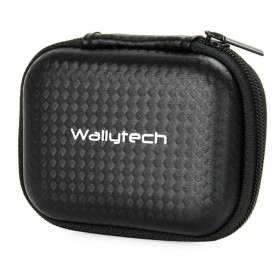 WallyTech Shock-proof Storage Bag for Xiaomi Yi & GoPro - SA-3174 - Black