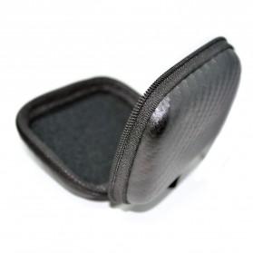 Shock-proof Earphone Storage Bag for Xiaomi Yi / GoPro - Black - 3