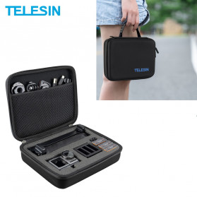 Telesin Shockproof EVA Storage Bag for DJI Osmo Action - OS-BAG-002 - Black