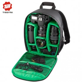 TIGERNU Tas Kamera DSLR - Green - 1