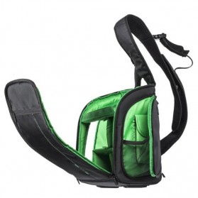 INDEPMAN Tas Kamera SLR Sling Camera DSLR Backpack Bag - A1706 - Green - 7