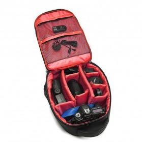 Tigernu Tas Kamera DSLR Backpack - T1333 - Black/Red - 2