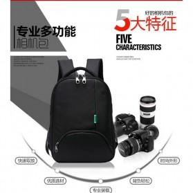 Tigernu Tas Kamera DSLR Backpack - T1333 - Black/Red - 13