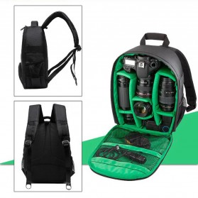 Tigernu Tas Kamera DSLR Backpack - T1333 - Black