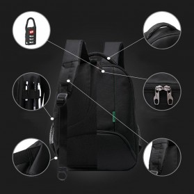Tigernu Tas Kamera DSLR Backpack - T1333 - Black - 9