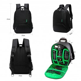 Tigernu Tas Kamera DSLR Backpack - T1333 - Black - 10