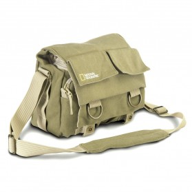 National Geographic Tas Kamera Selempang DSLR Shoulder Bag - NG2345 - Khaki