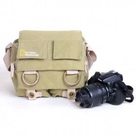 National Geographic Tas Kamera Selempang DSLR Shoulder Bag - NG2345 - Khaki - 2