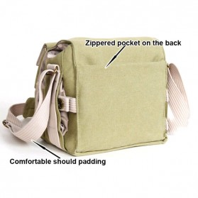 National Geographic Tas Kamera Selempang DSLR Shoulder Bag - NG2345 - Khaki - 6