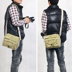 National Geographic Tas Kamera Selempang DSLR Shoulder Bag - NG2345 - Khaki - 7
