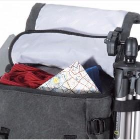 NatGeo Tas Kamera DSLR Backpack National Geographic - NGW5070 - Black - 9