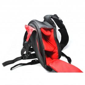 Tas Kamera Selempang dan Aksesoris Waterproof - Black - 4