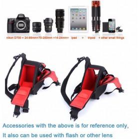 Tas Kamera Selempang dan Aksesoris Waterproof - Black - 6
