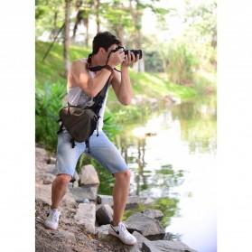 Tas Kamera Selempang dan Aksesoris Waterproof - Black - 8