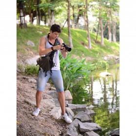 Tas Kamera Selempang dan Aksesoris Waterproof - Black - 9