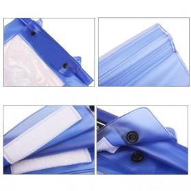 ALLOYSEED Tas Waterproof Universal Untuk Kamera DSLR - A1705 - Blue - 2