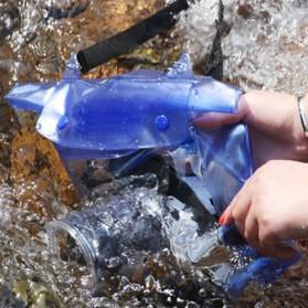 ALLOYSEED Tas Waterproof Universal Untuk Kamera DSLR - A1705 - Blue - 4