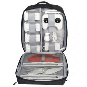 Caden Tas Ransel Backpack Drone Xiaomi - W8 - Black - 3