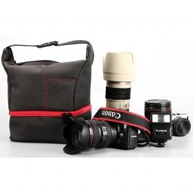 HUWANG Tas Kamera Selempang DSLR Hand Bag - TS-S06 - Gray - 8