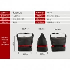 HUWANG Tas Kamera Selempang DSLR Hand Bag - TS-S06 - Gray - 9
