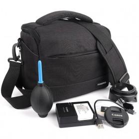 HUWANG Tas Kamera Selempang DSLR Shoulder Bag - TS-S07 - Black