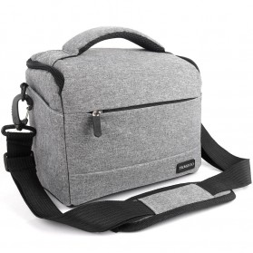 HUWANG Tas Kamera Selempang DSLR Shoulder Bag - TS-S07 - Black - 2