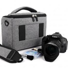 HUWANG Tas Kamera Selempang DSLR Shoulder Bag - TS-S07 - Black - 3