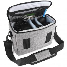 HUWANG Tas Kamera Selempang DSLR Shoulder Bag - TS-S07 - Black - 4