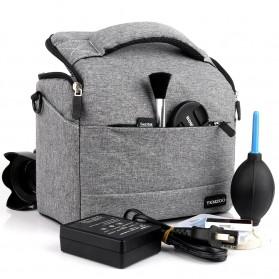 HUWANG Tas Kamera Selempang DSLR Shoulder Bag - TS-S07 - Black - 5