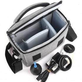 HUWANG Tas Kamera Selempang DSLR Shoulder Bag - TS-S07 - Black - 6