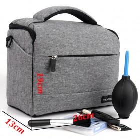 HUWANG Tas Kamera Selempang DSLR Shoulder Bag - TS-S07 - Black - 7