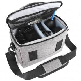 HUWANG Tas Kamera Selempang DSLR Shoulder Bag - TS-S07 - Black - 9