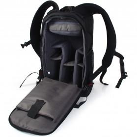 Caden Tas Ransel Kamera DSLR Waterproof - K6 - Black/Red - 3