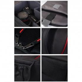 Caden Tas Ransel Kamera DSLR Waterproof - K6 - Black/Red - 5