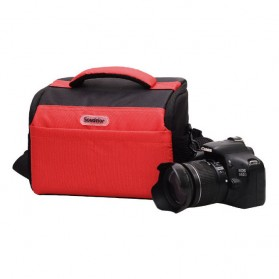Soudelor Tas Selempang Kamera DSLR for Canon Nikon - 5002 - Black - 2